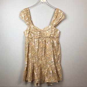 NWT - Free People Pattern Play Mini Dress - Large